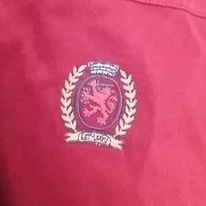 Vintage Tommy Hilfiger Men Shirt XL 100%Cotton.